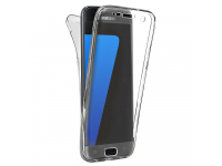 Husa silicon TPU Samsung Galaxy S7 G930 Full Cover Transparenta