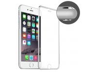 Folie Protectie ecran antisoc Apple iPhone 6 Enkay Tempered Glass Full Face Argintie Blister Originala