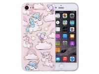 Husa silicon TPU Apple iPhone 7 Unicorn