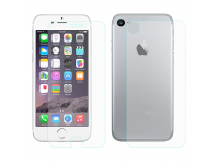Folie Protectie fata si spate antisoc Apple iPhone 7 Tempered Glass Enkay Blister