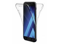Husa silicon TPU Samsung Galaxy S6 G920 Full Cover Transparenta