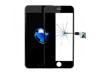 Folie Protectie ecran antisoc Apple iPhone 7 Enkay Flexible Tempered Glass Full Face 3D Neagra Blister Originala