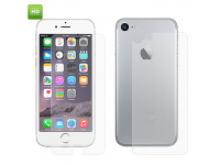 Folie Protectie fata si spate Apple iPhone 7 Enkay HD
