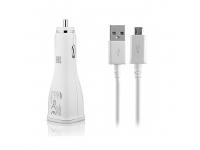 Incarcator auto MicroUSB Samsung EP-LN920BWE + EP-DG920UWE Fast Charging alb Original