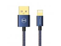 Cablu de date Lightning McDodo CA-1730 Bleumarin 1.2m Blister Original