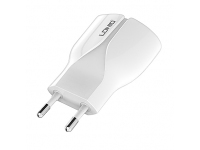 Incarcator retea Dual USB Huawei P9 lite Ldnio A2271 2.1A Alb Blister Original
