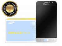 Display cu touchscreen Samsung Galaxy J1 (2016) J120 Negru Alb GH97-18224A