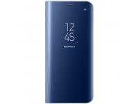 Husa plastic Samsung Galaxy S8+ G955 Clear View EF-ZG955CLEGWW Albastra Blister Originala