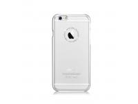 Husa plastic Apple iPhone 6 Comma Jewelry Swarovski Argintie Transparenta Blister Originala