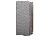 Husa Piele Huawei P10 Lite Case Smart Magnet Gri