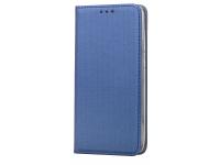 Husa Piele Samsung Galaxy S8+ G955 Case Smart Magnet bleumarin