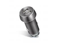 Adaptor auto Dual USB Forever PCC-04 3.1A Gri Blister Original