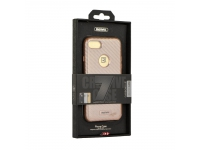 Husa plastic Apple iPhone 7 Remax Carbon Aurie Blister Originala