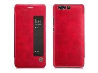 Husa piele Huawei P10 Nillkin Qin View Rosie Blister Originala