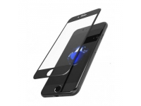 Folie Protectie ecran antisoc Apple iPhone 7 Usams Tempered Glass Mata Full Face 3D Neagra Blister Originala