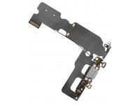 Banda cu conector incarcare / date si microfon Apple iPhone 7 Plus Argintie