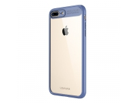 Husa plastic Apple iPhone 7 Usams Mant albastra Blister Originala