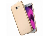 Husa plastic Samsung Galaxy A7 (2017) A720 Lenuo Slim Aurie Blister Originala