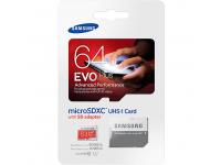 Card memorie Samsung EVO Plus MicroSDXC 64GB Clasa 10 MB-MC64DA/EU Blister