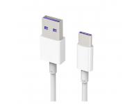Cablu de date USB - USB Type-C Huawei AP71 HL1289 Alb