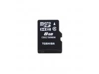 Card memorie Toshiba MicroSDHC 8GB Clasa 4 Blister