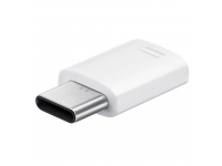 Adaptor USB Type-C - MicroUSB Samsung EE-GN930BW alb Original