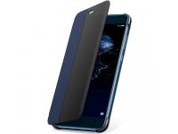 Husa piele Huawei P10 Lite Flip View 51991908 Albastra Blister Originala