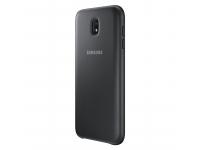 Husa plastic Samsung Galaxy J7 (2017) J730 Dual Layer EF-PJ730CBEGWW Blister Originala