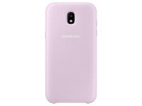 Husa plastic Samsung Galaxy J5 (2017) J530 Dual Layer EF-PJ530CPEGWW Roz Blister Originala