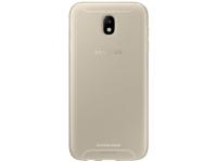 Husa Silicon TPU Samsung Galaxy J7 (2017) J730 Jelly Cover EF-AJ730TFEGWW Aurie Transparenta Blister Originala