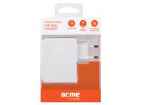 Adaptor priza 4 x USB Acme CH16 4.9A alb Blister Original