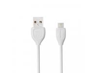 Cablu de date MicroUSB Remax Lesu RC-050M Alb Blister Original