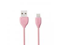 Cablu de date Lightning Remax Lesu RC-050I Roz Blister Original