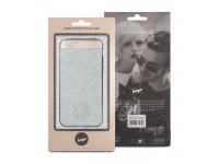 Husa silicon TPU Apple iPhone 7 Beeyo Glossy Argintie Blister Originala