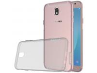 Husa silicon TPU Samsung Galaxy J5 (2017) J530 Nillkin Nature gri Transparenta Blister Originala
