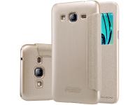 Husa Samsung Galaxy J3 (2016) J320 Nillkin Sparkle View Aurie Blister Originala