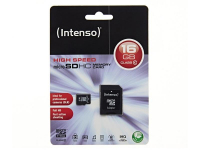 Card memorie Intenso MicroSDHC 16GB Clasa 10 Blister