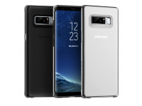 Husa plastic Samsung Galaxy Note8 N950 Anymode Pure Argintie Transparenta Blister Originala