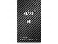 Folie Protectie ecran antisoc Apple iPhone X Tempered Glass Full Face Alba Blueline Blister