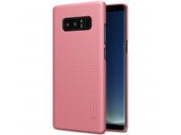 Husa plastic Samsung Galaxy Note8 N950 Nillkin Roz Blister Originala