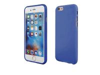 Husa silicon TPU Apple iPhone X Candy Bleumarin