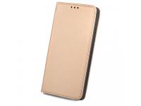 Husa Piele LG K10 (2017) Case Smart Magnet aurie