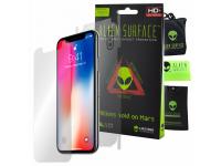 Folie Protectie Fata si Spate Alien Surface pentru Apple iPhone X, Plastic, Full Cover, Blister