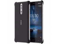 Husa plastic Nokia 8 CC-801 Soft Touch Blister Originala