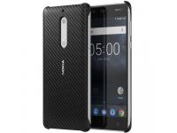 Husa plastic Nokia 5 CC-803B Carbon Fibre Onyx Blister Originala