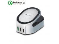 Incarcator Wireless cu 3 x USB Forever Fast Charging Blister Original