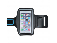 Husa Armband OEM, pentru Samsung Galaxy S5 G900, Premium, Neagra
