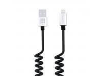 Cablu Date Lightning Spiralat Haweel 1m Blister Original