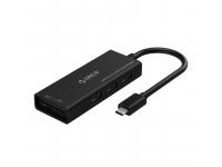 Hub USB Type C cu 3 porturi USB si cititor card Orico CH3SF Blister Original