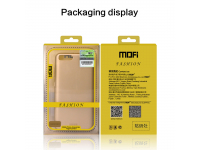 Husa plastic Apple iPhone 7 Mofi Slim Aurie Blister Originala